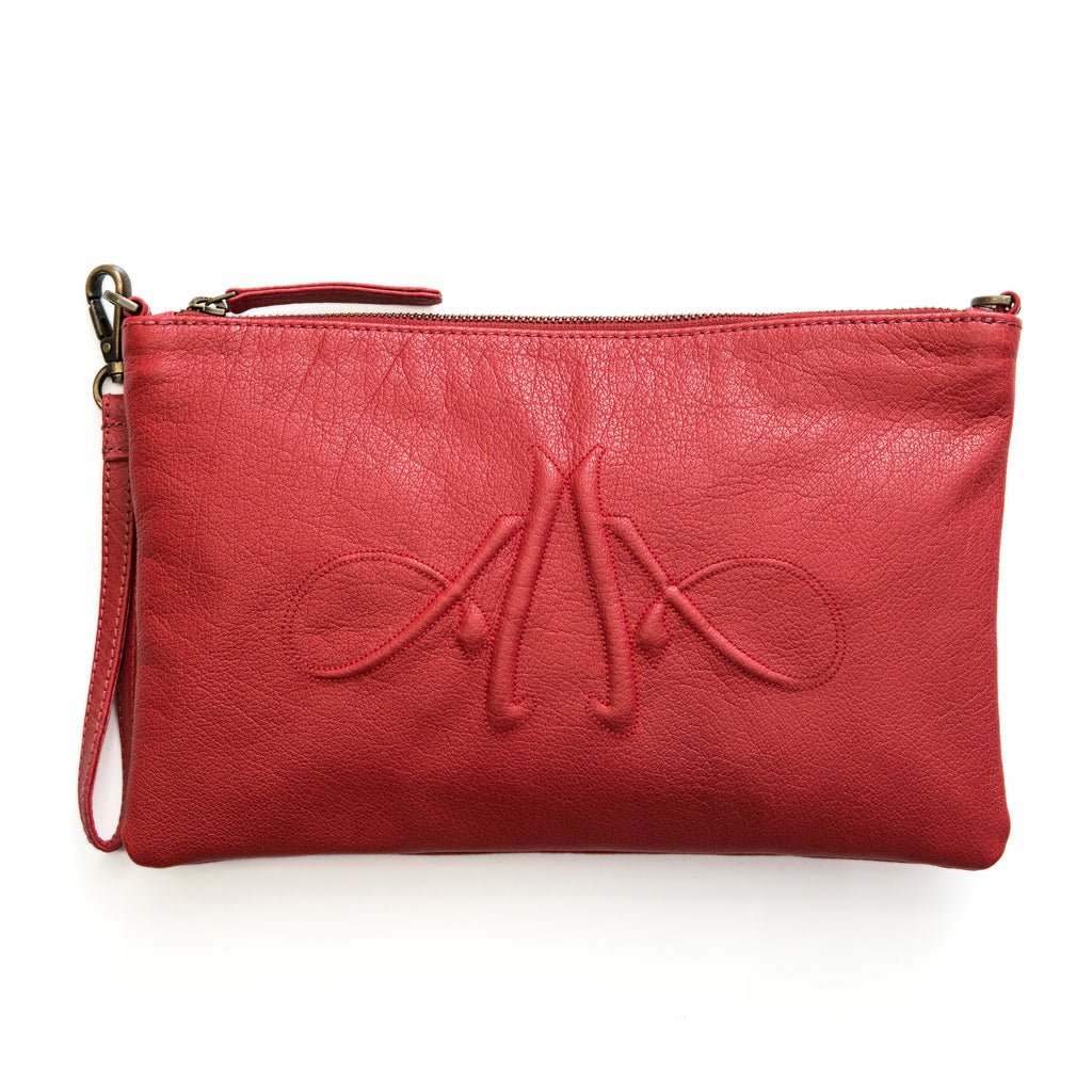 Leðurveski /  Leather Clutch