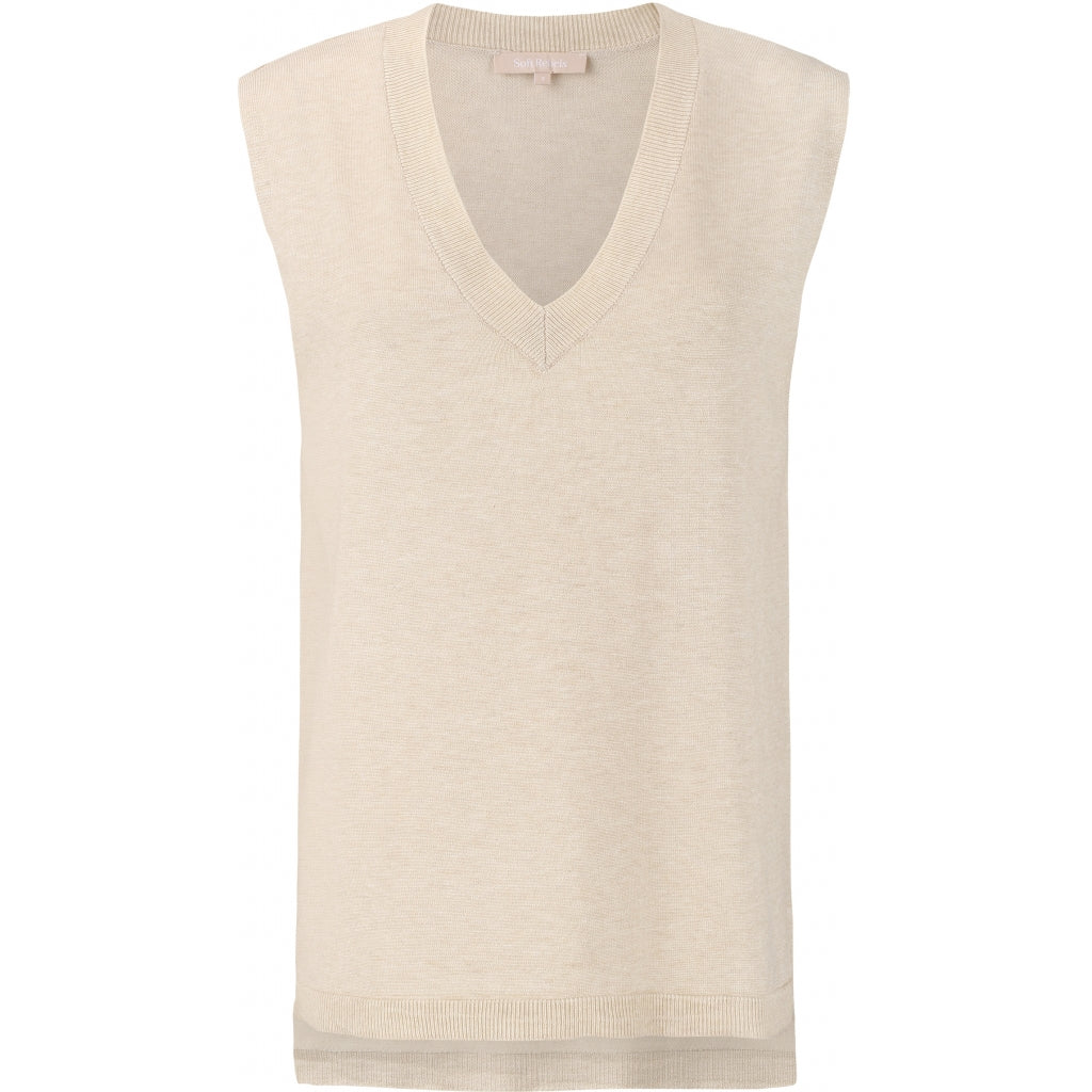SR - Marla V-Neck Knit Vest