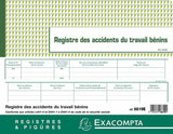 Registre des accidents du travail bénins