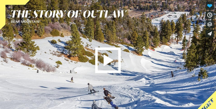 Recreating Snowboarding's Original Terrain Park