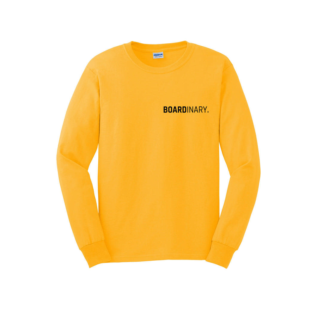Boardinary - Basic L/S T-Shirt - Gold