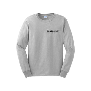 Boardinary - Basic L/S T-Shirt - Grey