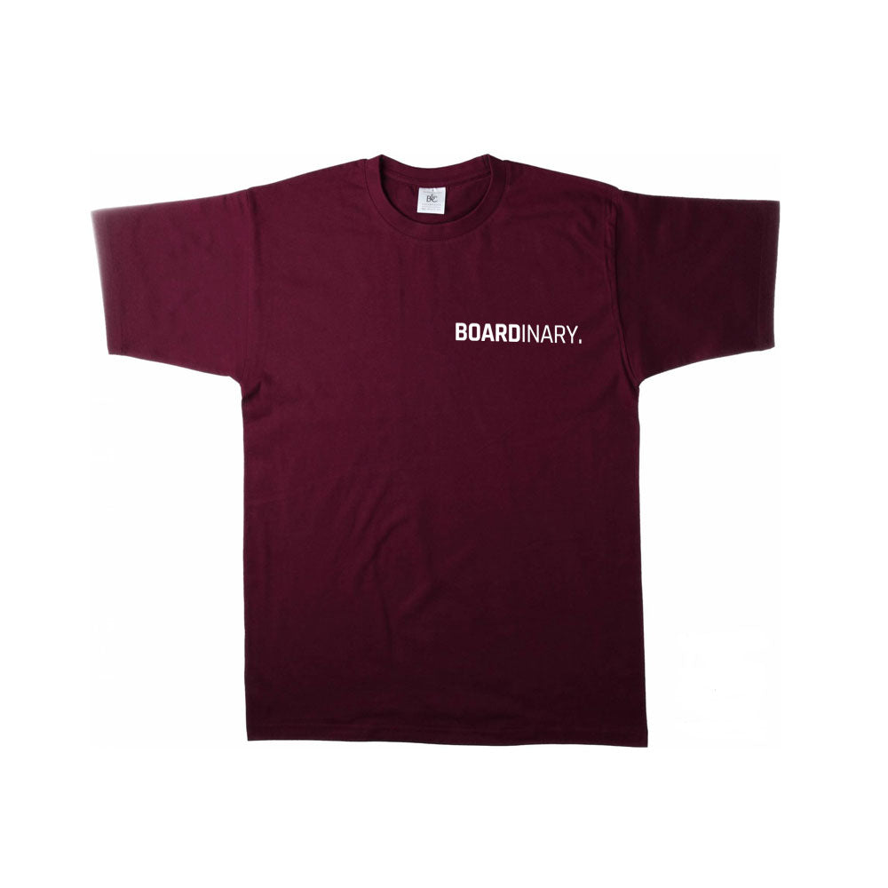 Boardinary - Basic T-Shirt - Burgundy