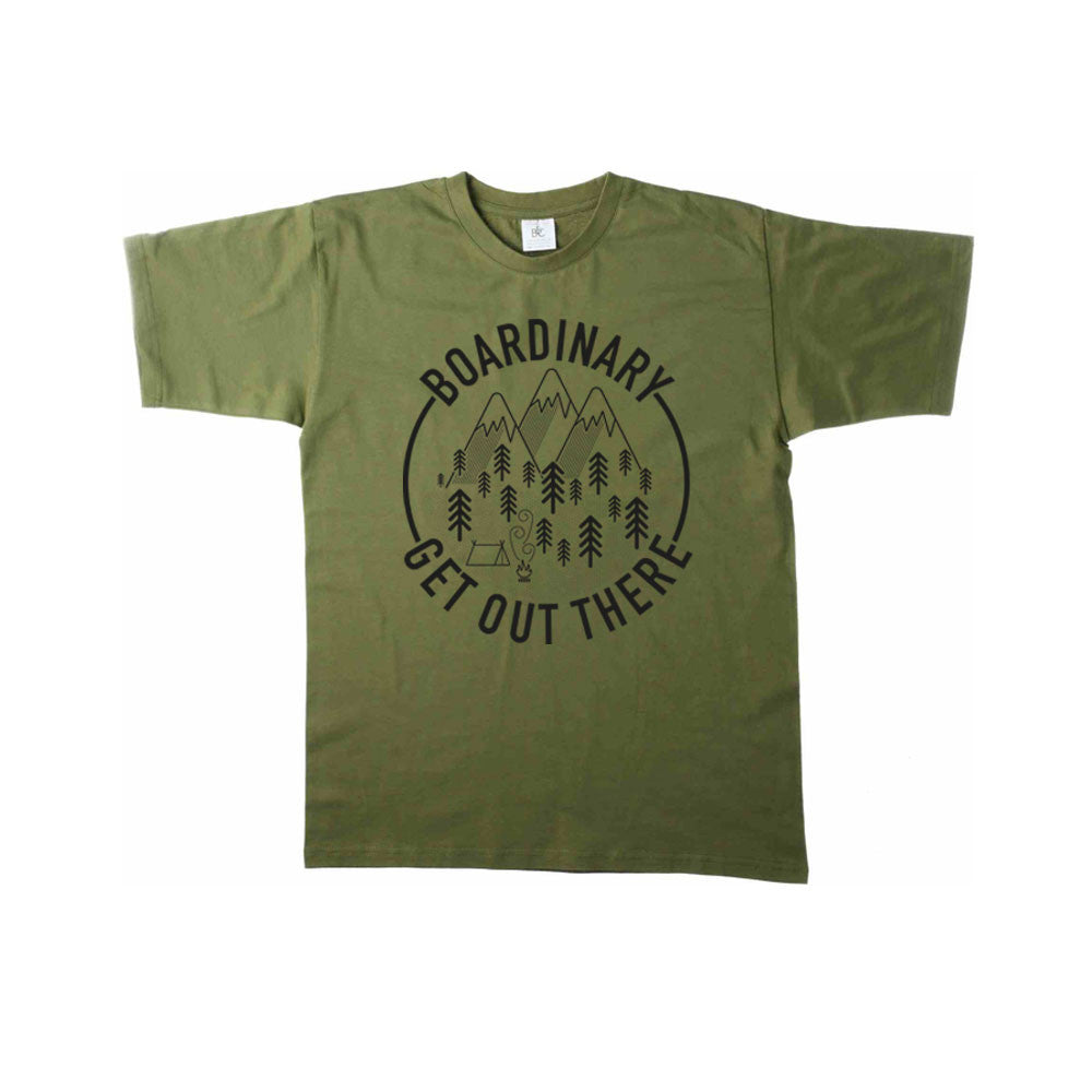 Boardinary - Get Out There T-Shirt - Green