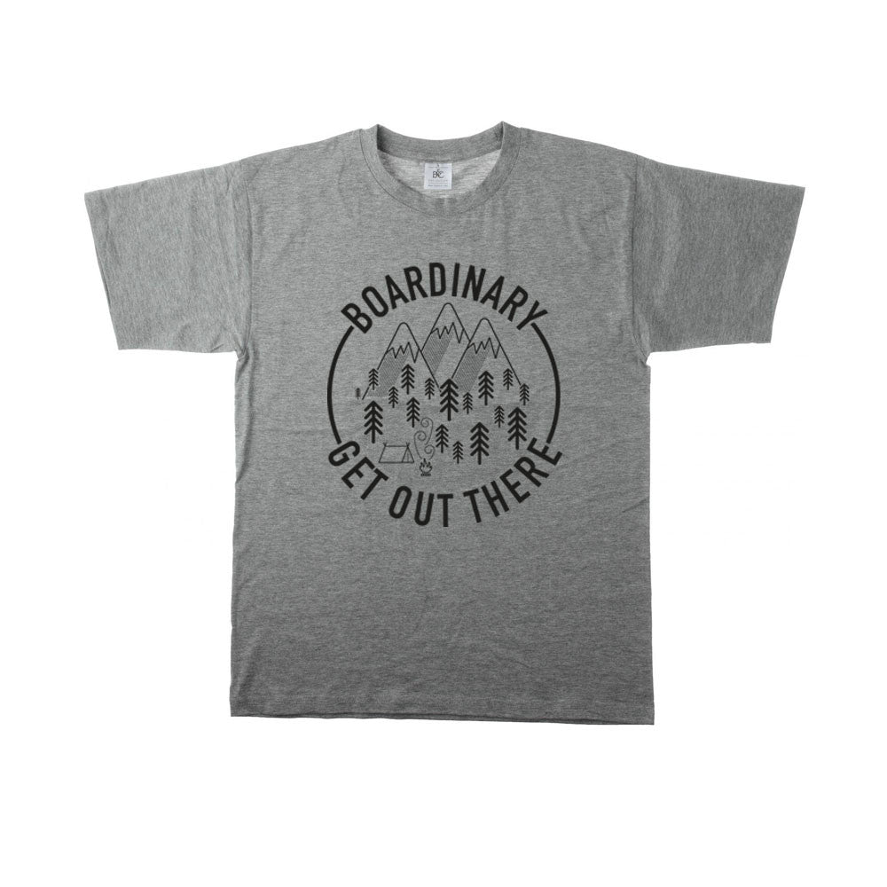 Boardinary - Get Out There T-Shirt - Grey
