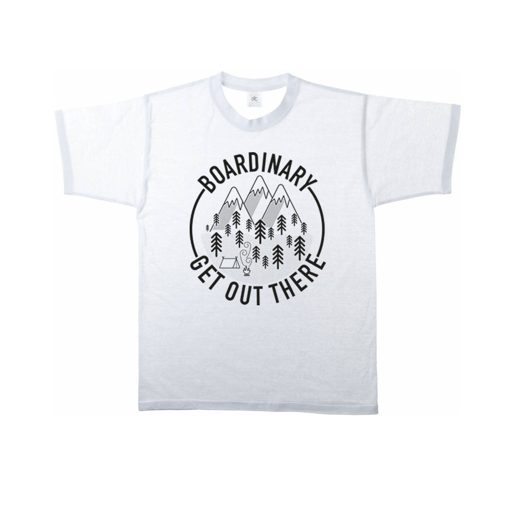 Boardinary - Get Out There T-Shirt - White