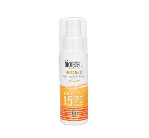 Sunscreen oil SPF15