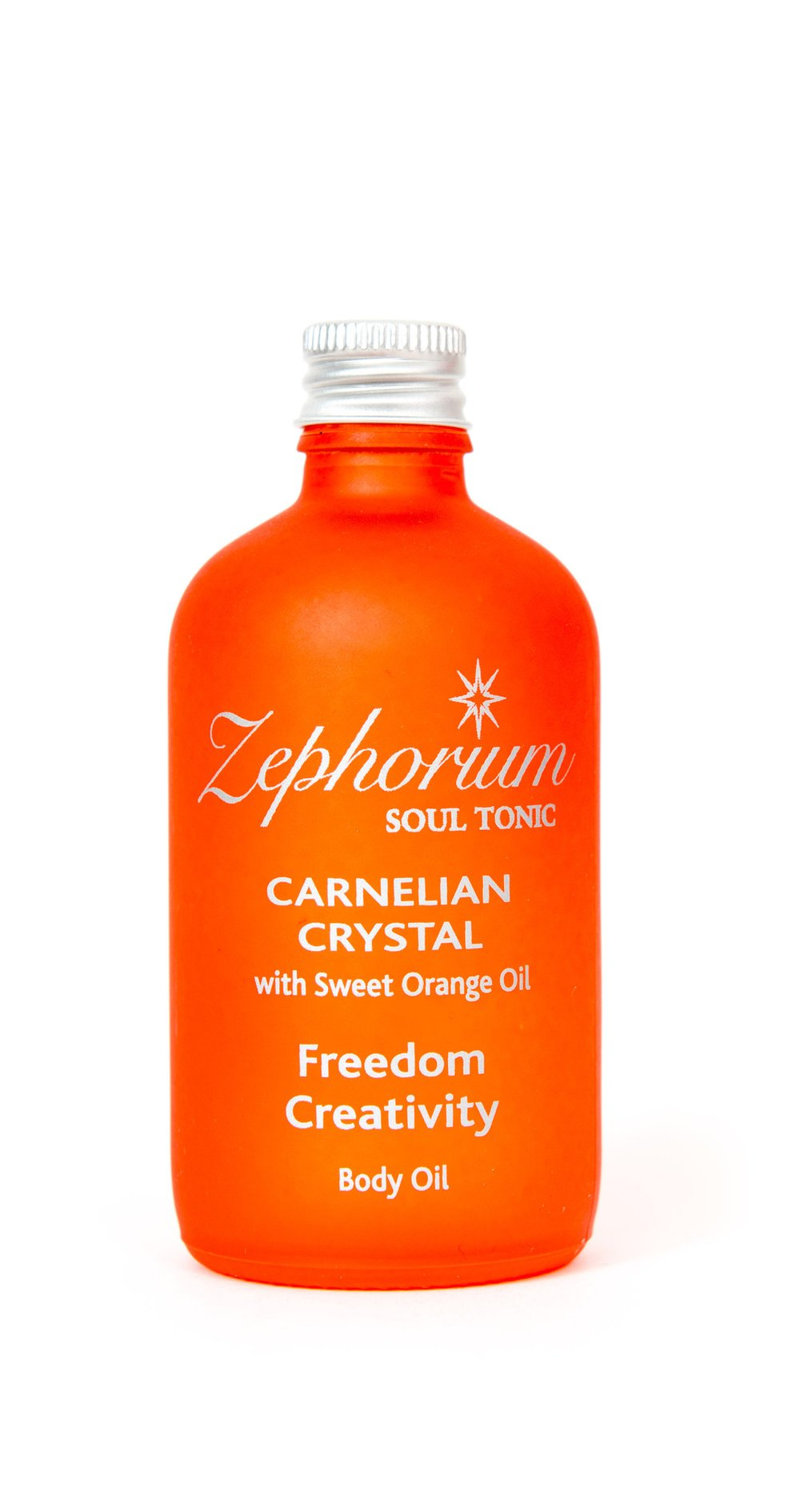 Carnelian Crystal Body Oil