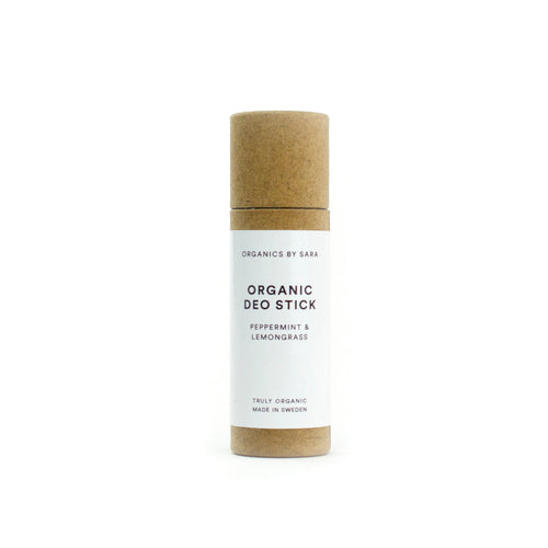 Organic Deo Stick Peppermint & Lemongrass