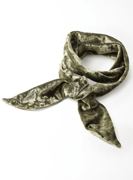 Velvet Hammered, Earth, Scarf - Lindner Fashion
