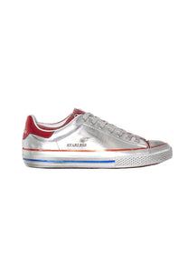 Starless, Silver / Red, Damen Sneaker