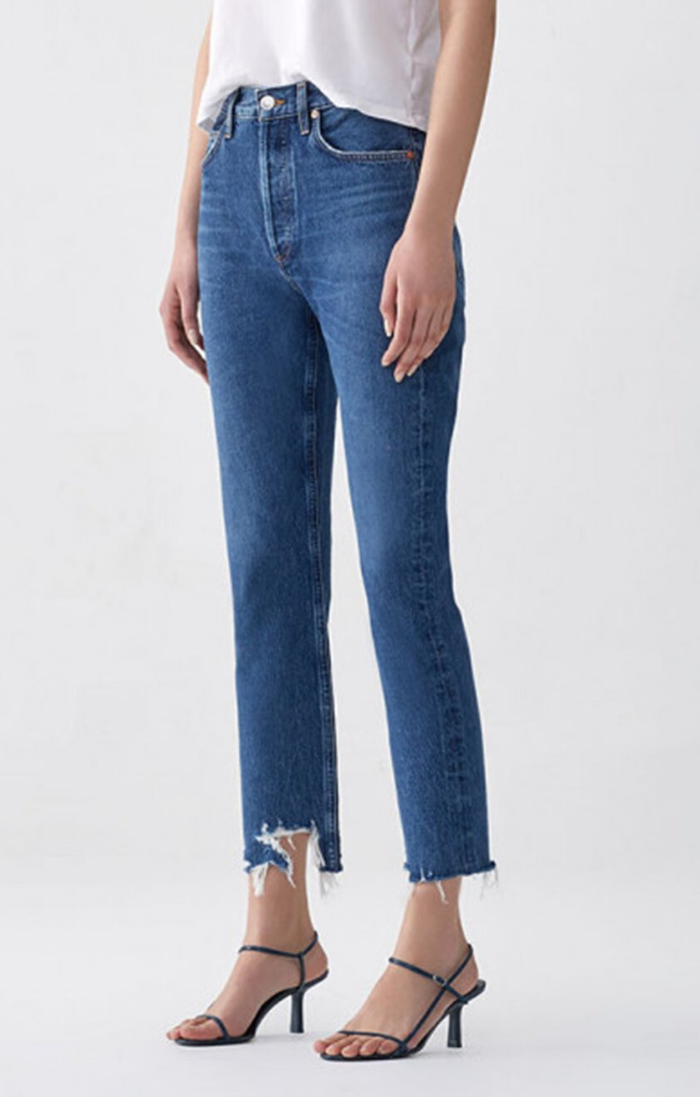 Riley, High Rise Straight Crop, Veto, Jeans