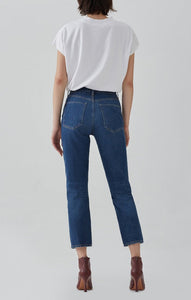 Riley, High Rise Straight Crop, Wink, Jeans
