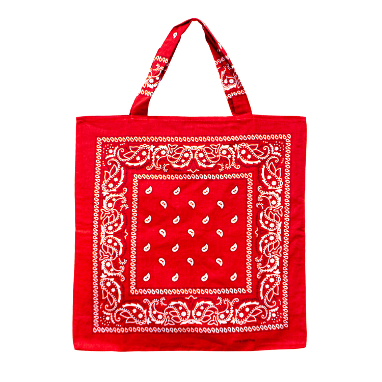 Red Beach Bandana, Bag - Lindner Fashion