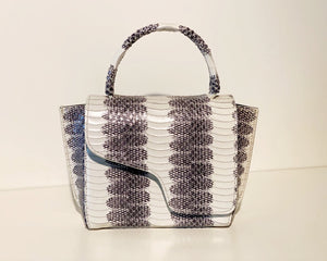 Montalcino, Ice White, Mini Handbag