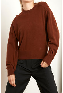 Arutua, Chocolate, Pullover - Lindner Fashion