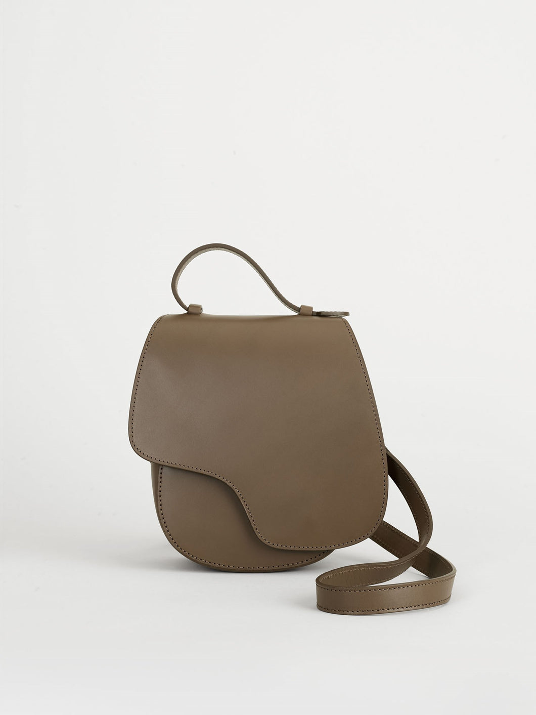 Carrara, Khaki Brown, Crossbody Bag