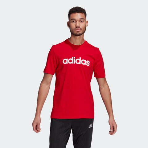ESS EMBROIDERED LINEAR LOGO TEE MENS