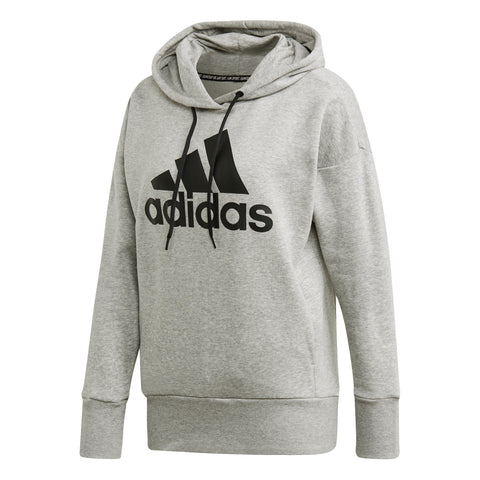 BADGE OF SPORT LONG HOODIE WOMENS