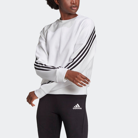 WRAPPED 3-STRIPES SWEATSHIRT CREW WOMENS
