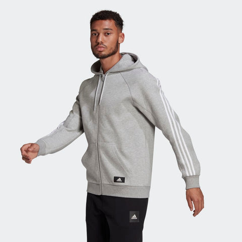 3-STRIPES HOODED TRACK TOP MENS