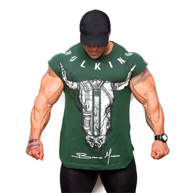 new clothing gym tight T-shirt