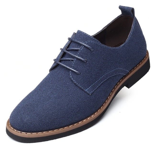 2020 High Quality Suede Leather Soft Shoes