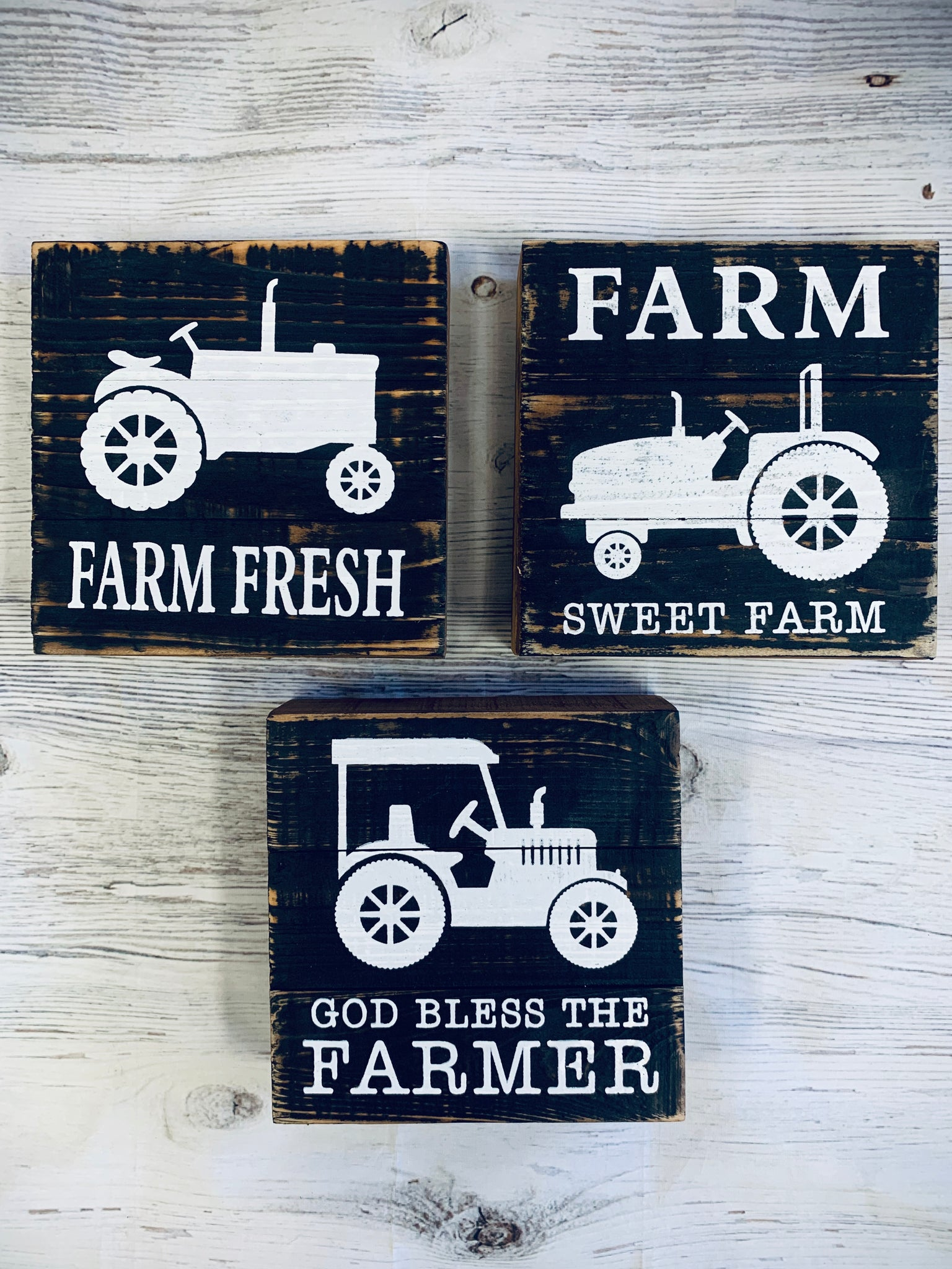 Farm Block Signs