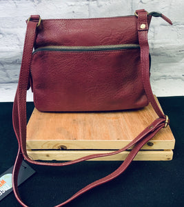 Vegan Leather crossbody