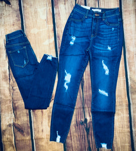 Encore Dark Wash Jean