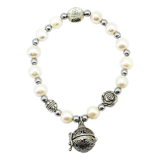 Wholesale Monaco Pearl Magnetic Essential Oil Bracelet