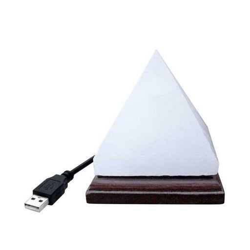 Wholesale Pyramid White Mini Himalayan Salt Lamp
