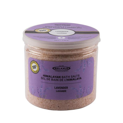 Wholesale Lavender Himalayan Bath Salt Jars (700 g)