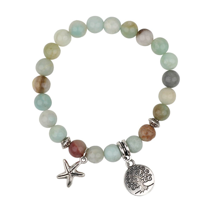 Amazonite Bracelet tree of life