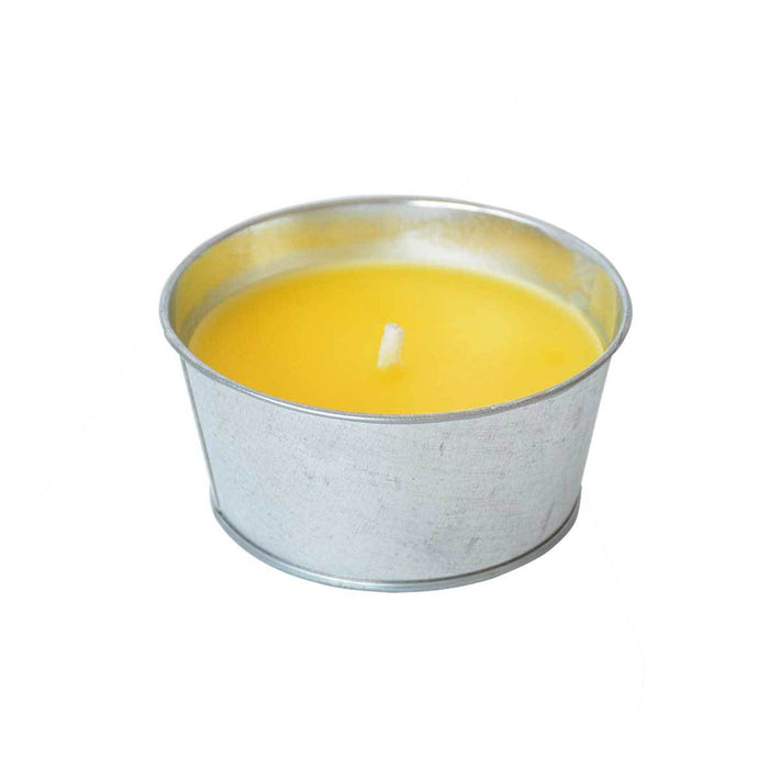Wholesale Peppermint Citronella Metal Bucket Candles Prepack of 6