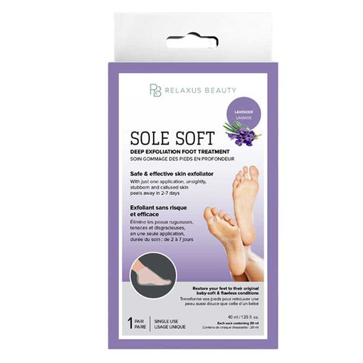 Wholesale Sole Soft Deep Exfoliation Foot Treatment