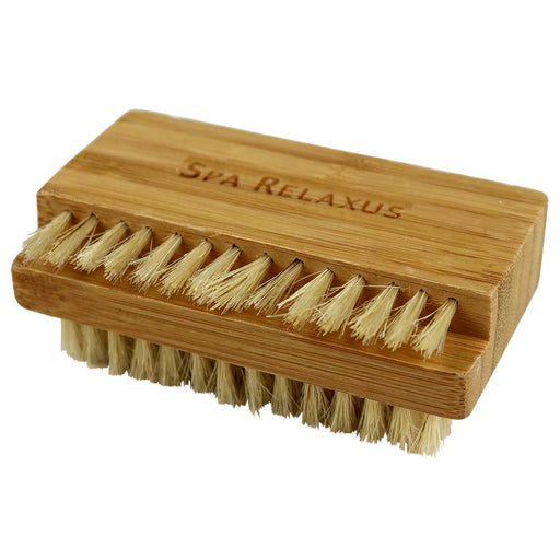 Wholesale Bamboo Dual-Sided Nail Brush