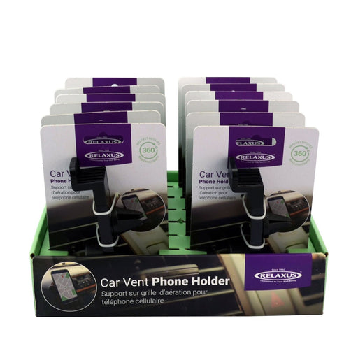 Relaxus Wholesale Car Vent Phone Mount