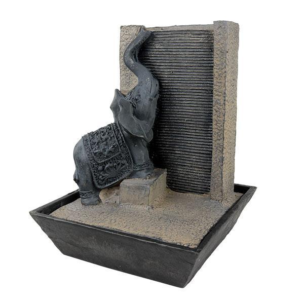Tantric Elephant Indoor Water Fountain Angled