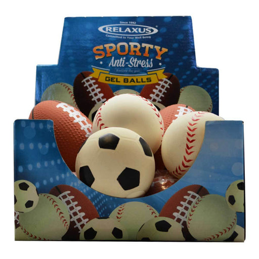 Wholesale Sporty Gel Stress Balls