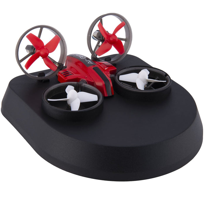 RC 3-in-1 Micro Drone as hovercraft