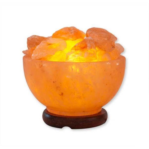 Wholesale Bowl of Fire Himalayan Salt Lamp