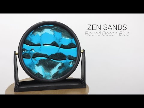 Wholesale Round Blue Zen Sands