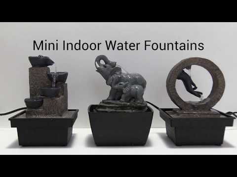 Wholesale Mini Baskets Indoor Water Fountain