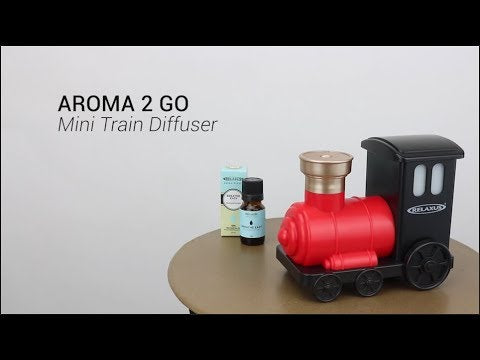Wholesale Aroma 2 Go Mini Train Essential Oil Diffuser With USB Cable