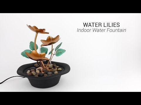 Wholesale Water Lilies Indoor Water Fountain