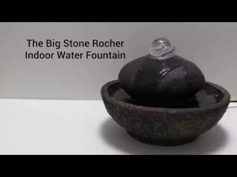 Wholesale Big Stone Rocher Indoor Water Fountain