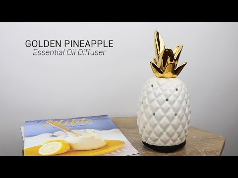 Wholesale Golden Pineapple Essential Oil Diffuser
