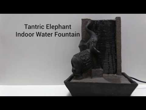 Wholesale Tantric Elephant Indoor Water Fountain