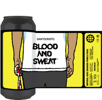 Blood And Sweat -  Lata 44cl